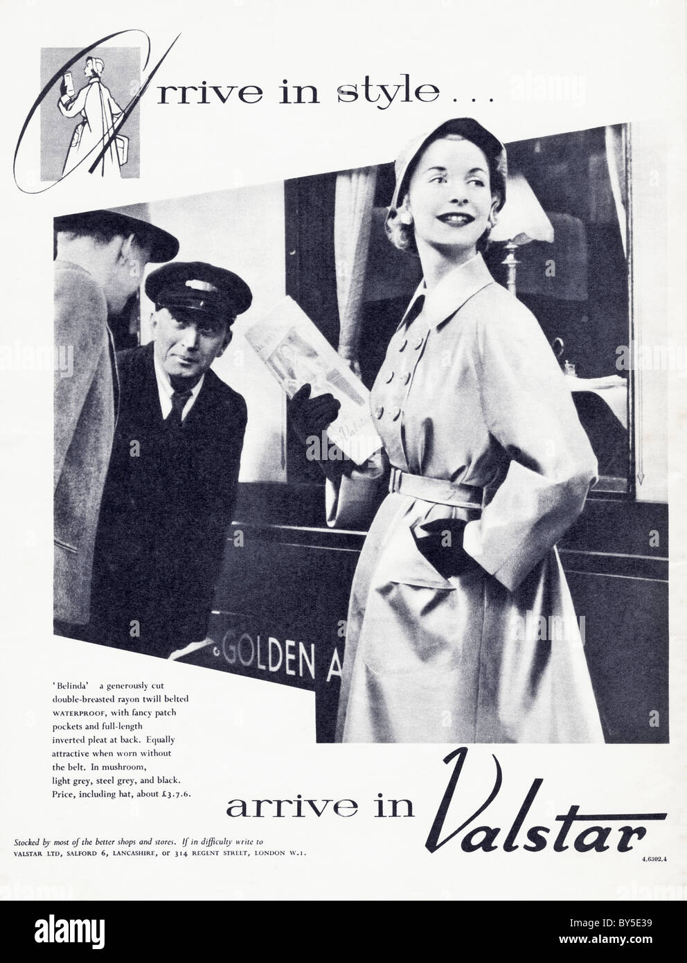 1950s full page advertisement in women 39 s fashion magazine for