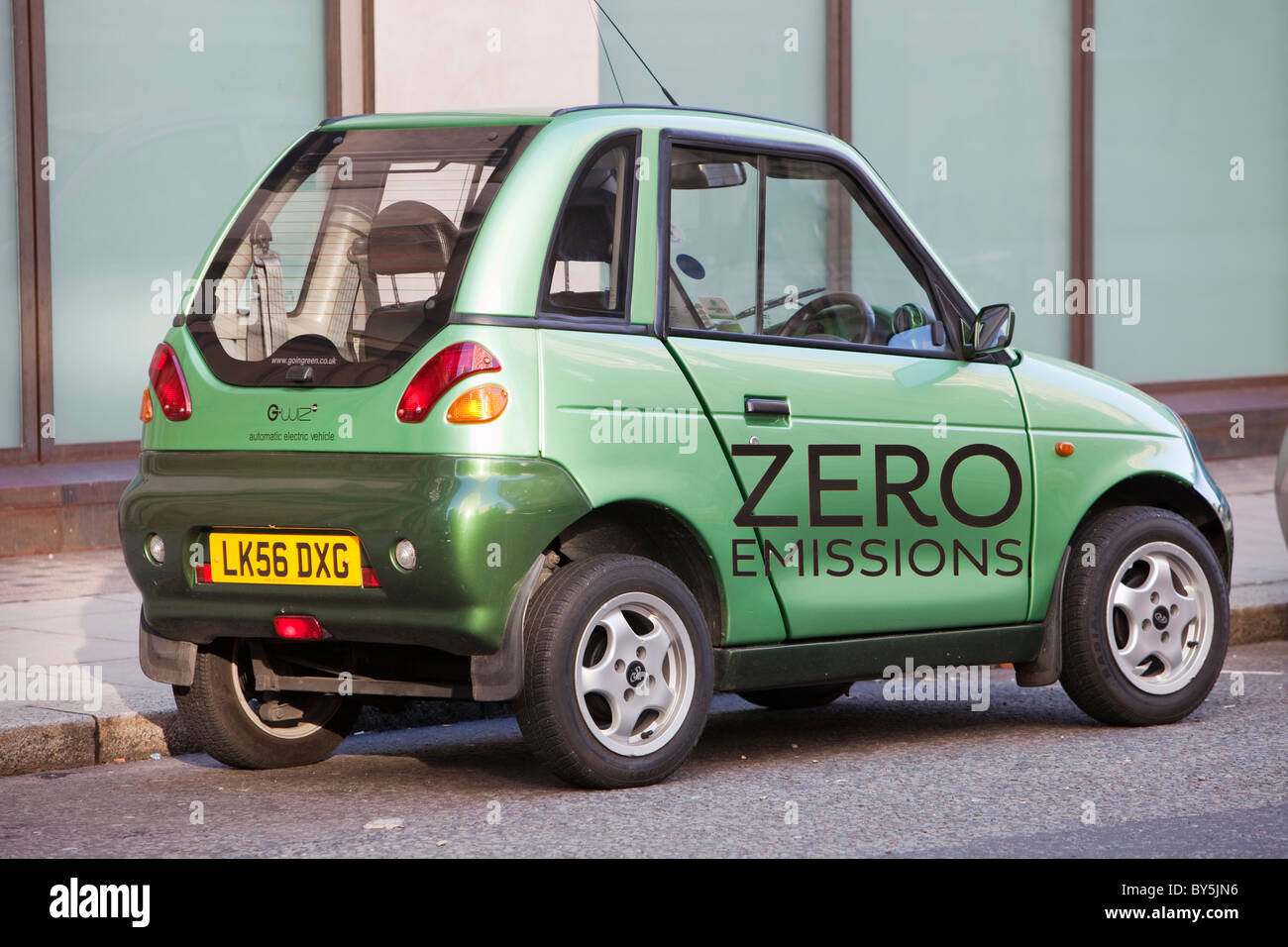 A G Wiz Electric Car On The Streets Of London Uk Such Zero