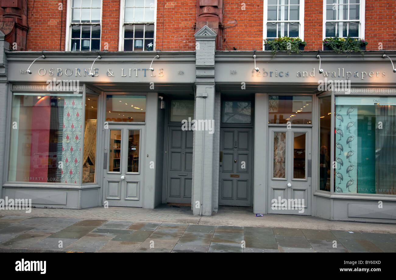 Osborne & Little, Kings Road, London: George Osborne\'s family ...
