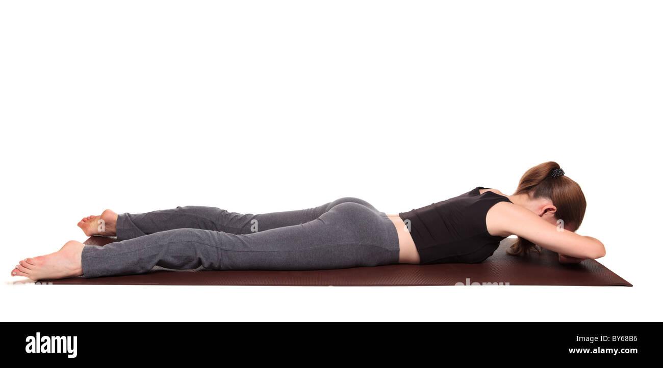 Yoga - Makarasana | Mugup Mobile Web App | Shlok Consultants