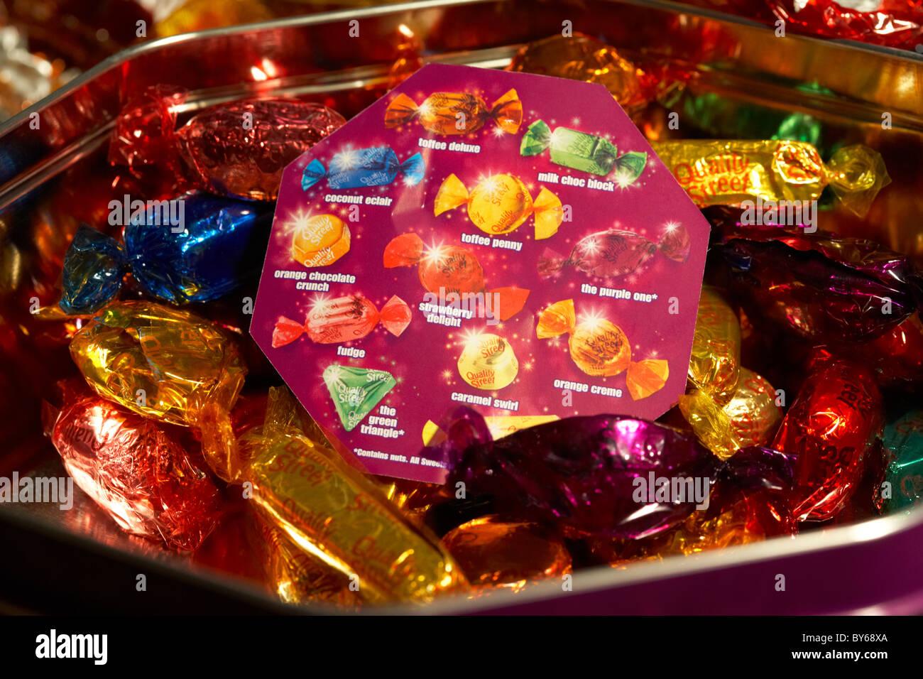 Quality Street Chocolate Box Stock Photos & Quality Street ...