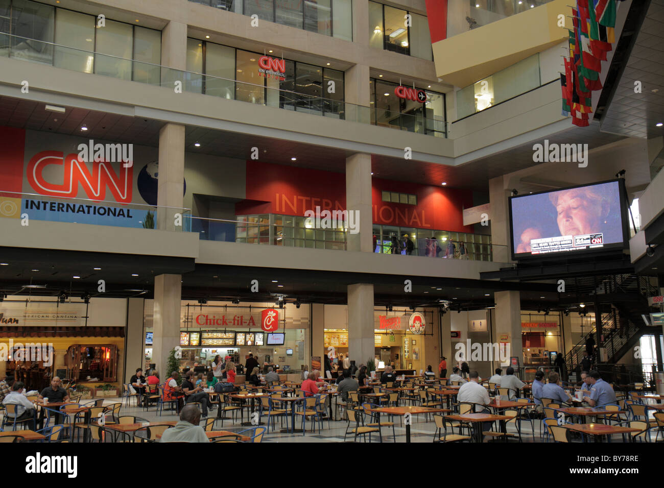 The Cnn Center Food Court