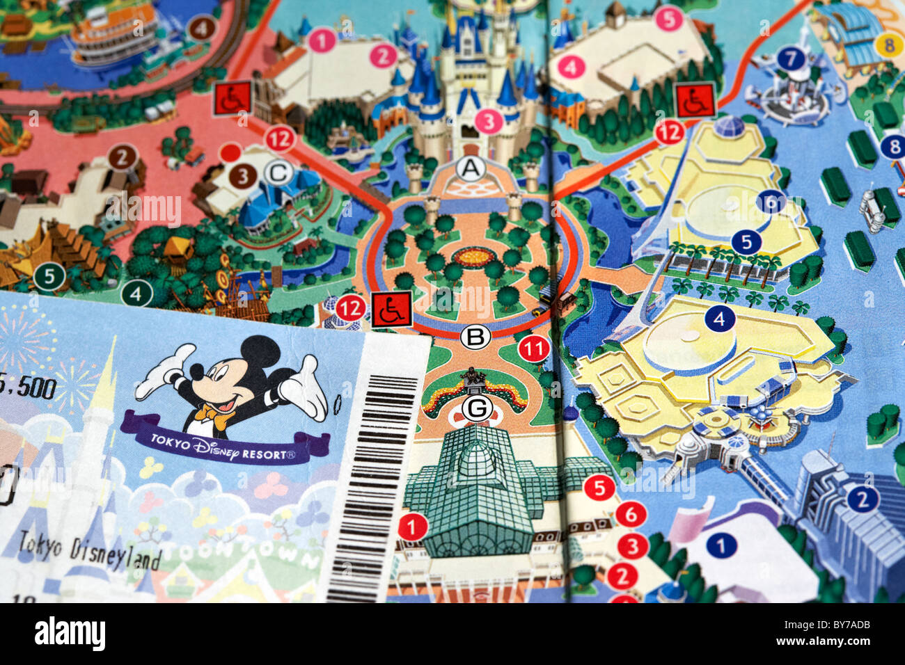 Japan Map Tourist Attractions – Tourist Attractions Map In Tokyo