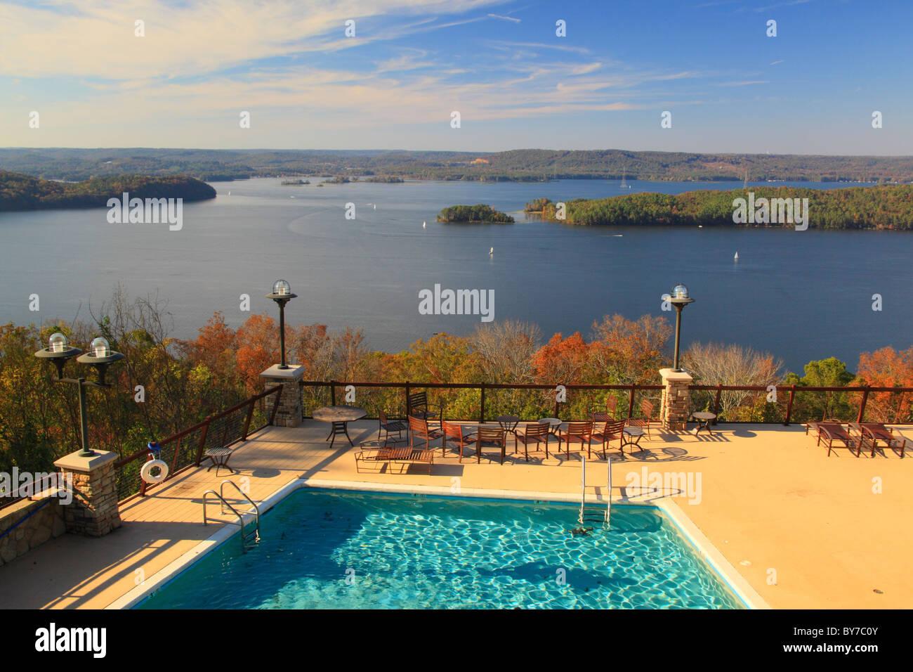 Swimming Pool At Lodge Lake Guntersville Resort State Park Stock Photo Royalty Free Image
