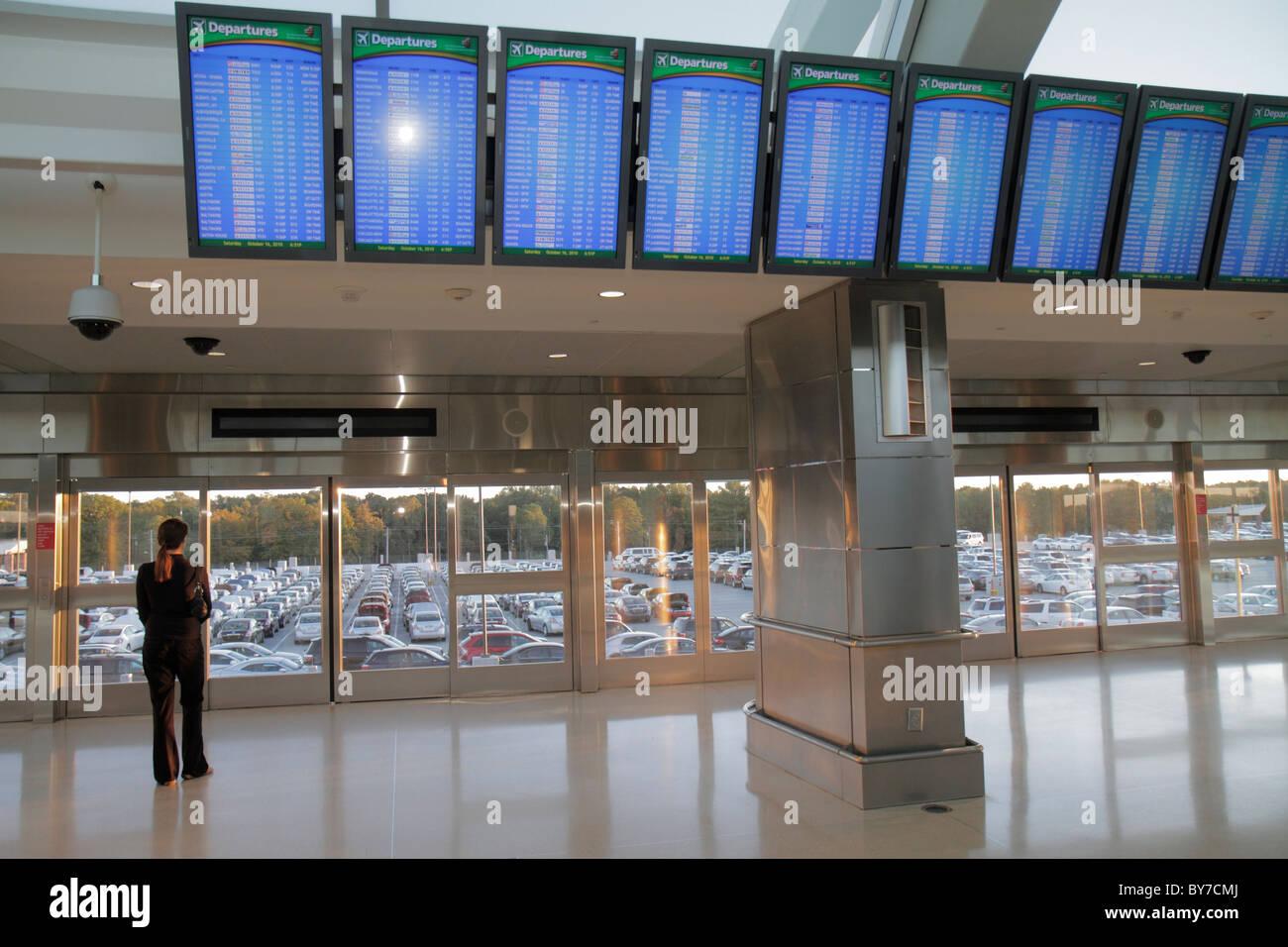 Georgia hartsfield jackson atlanta international airport atl skytrain platform automated people mover apm rental stock