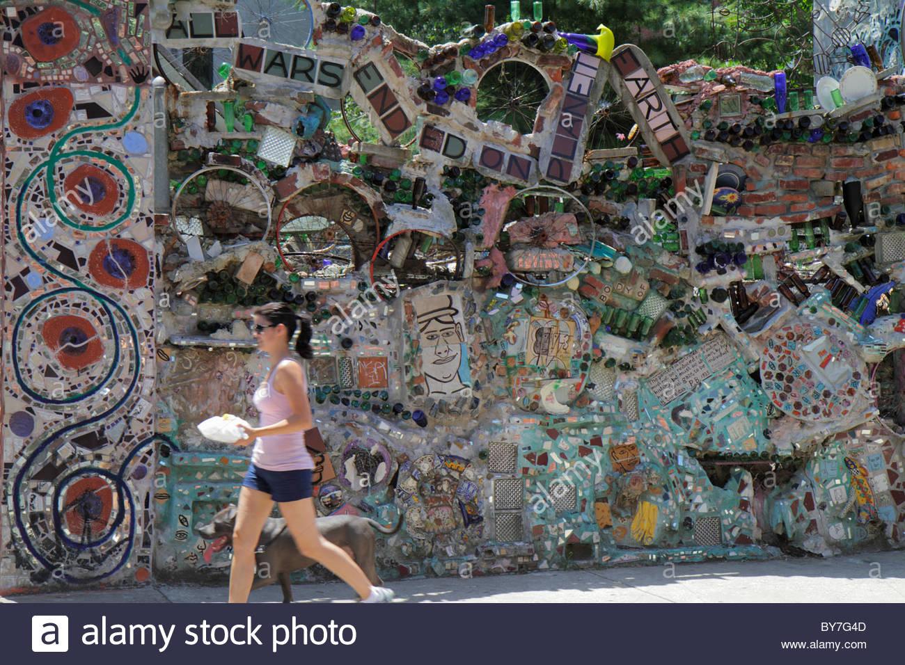 Philadelphia Pennsylvania South Philly South Street Magic Gardens