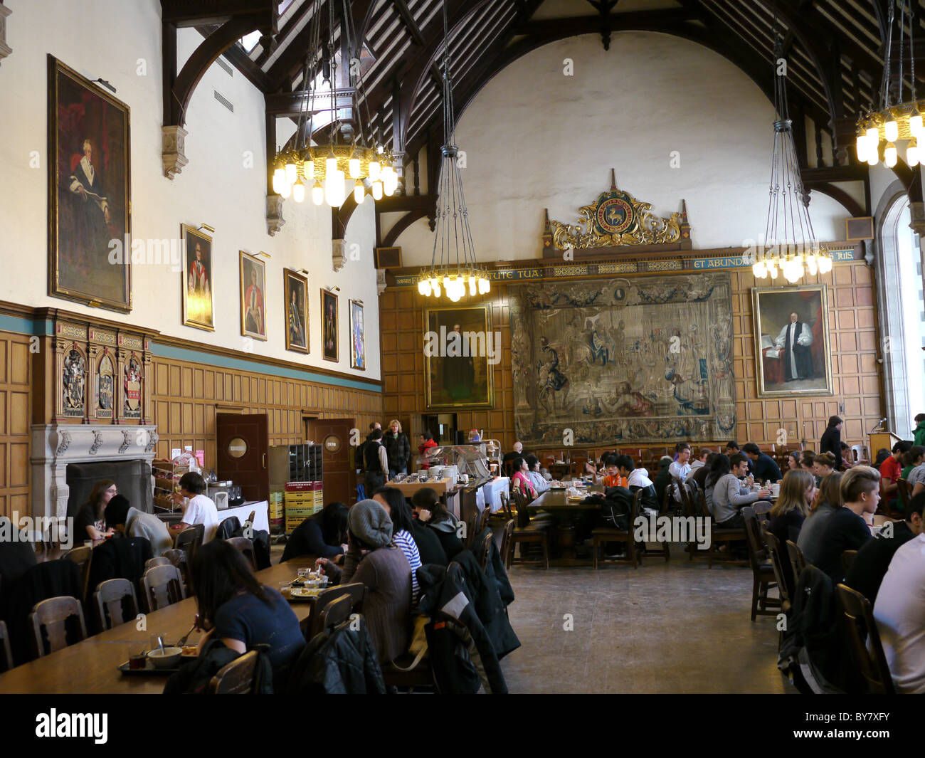 University of toronto trinity college dining hall stock for U of t dining hall