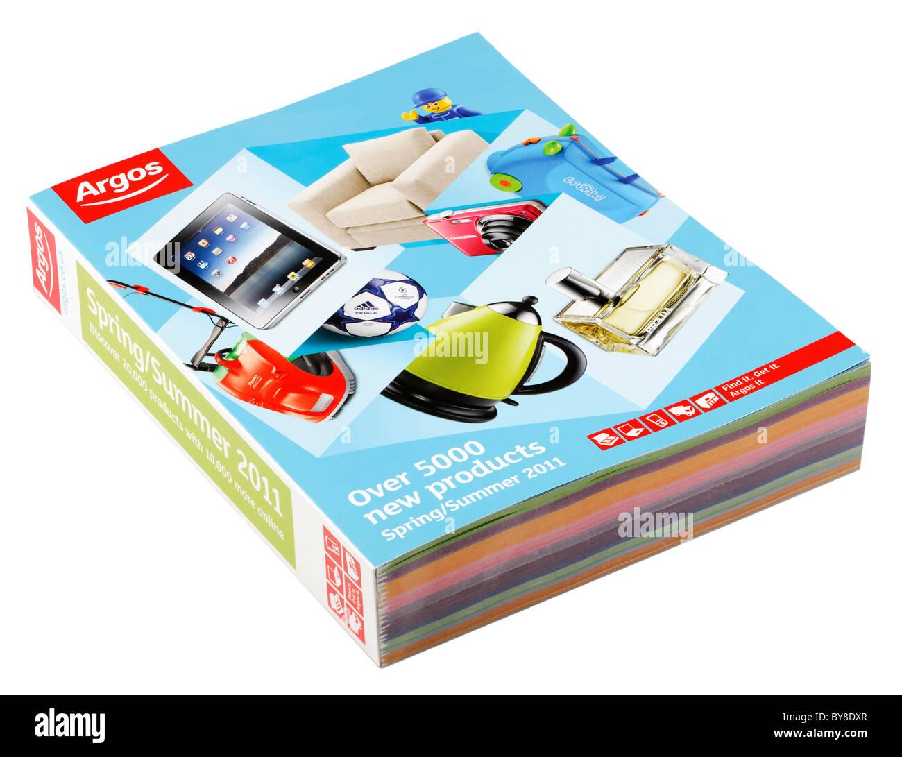 White apron argos - Argos Catalog For Spring Summer 2011 Stock Image