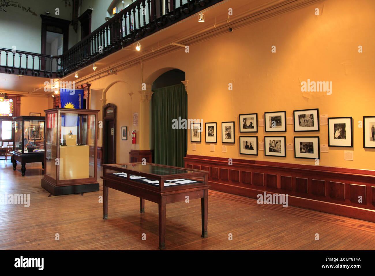 Main Hall, Snug Harbor Cultural Center And Botanical Garden, Richmond  Terrace, Staten Island, New York City