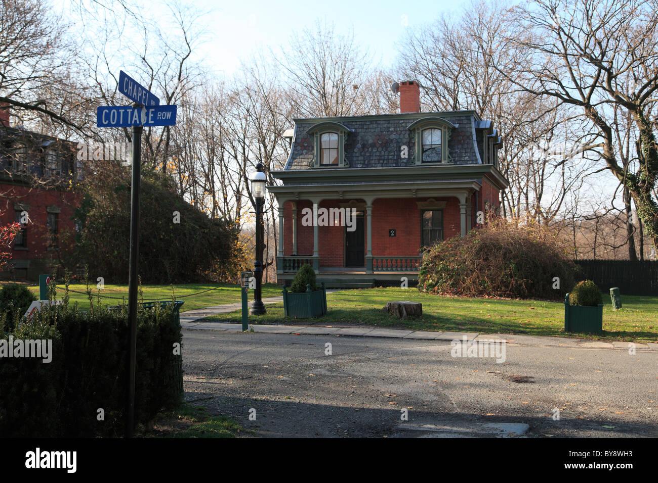 Superieur Cottage Row, Snug Harbor Cultural Center And Botanical Garden, Richmond  Terrace, Staten Island, New York City
