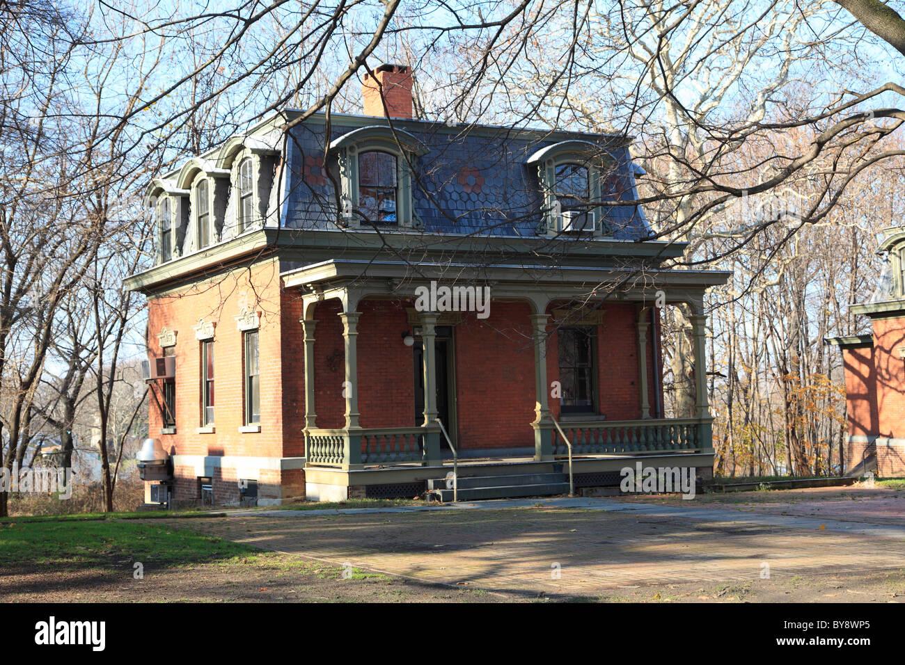 Cottage Row, Snug Harbor Cultural Center And Botanical Garden, Richmond  Terrace, Staten Island, New York City
