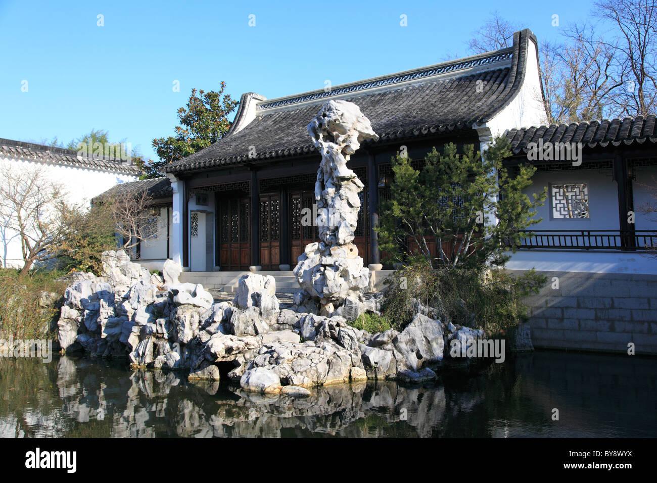 Chinese Scholaru0027s Garden, Snug Harbor Cultural Center And Botanical Garden,  Richmond Terrace, Staten Island, New York City