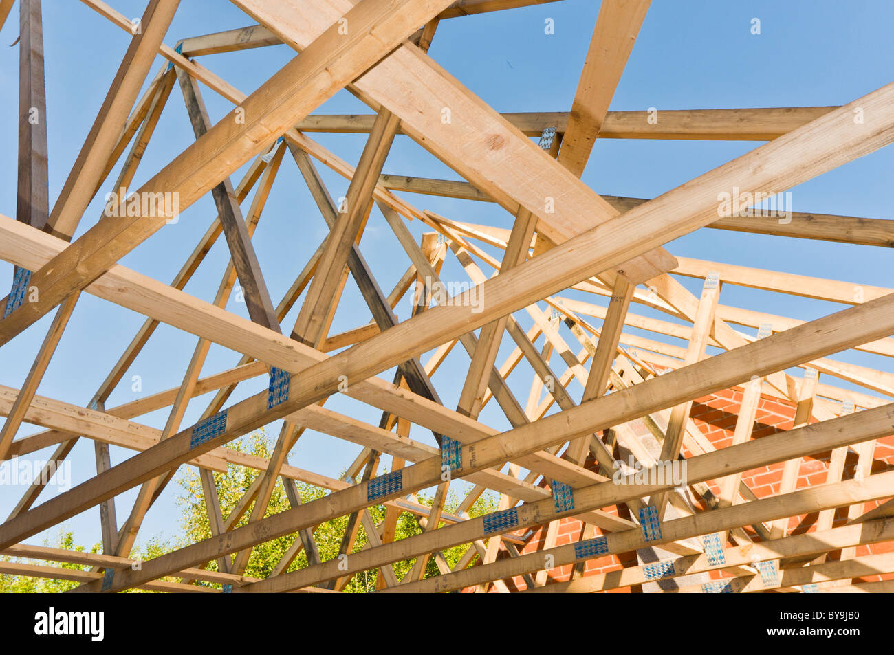 Architecture roof trusses stock photo royalty free image for Where to buy trusses