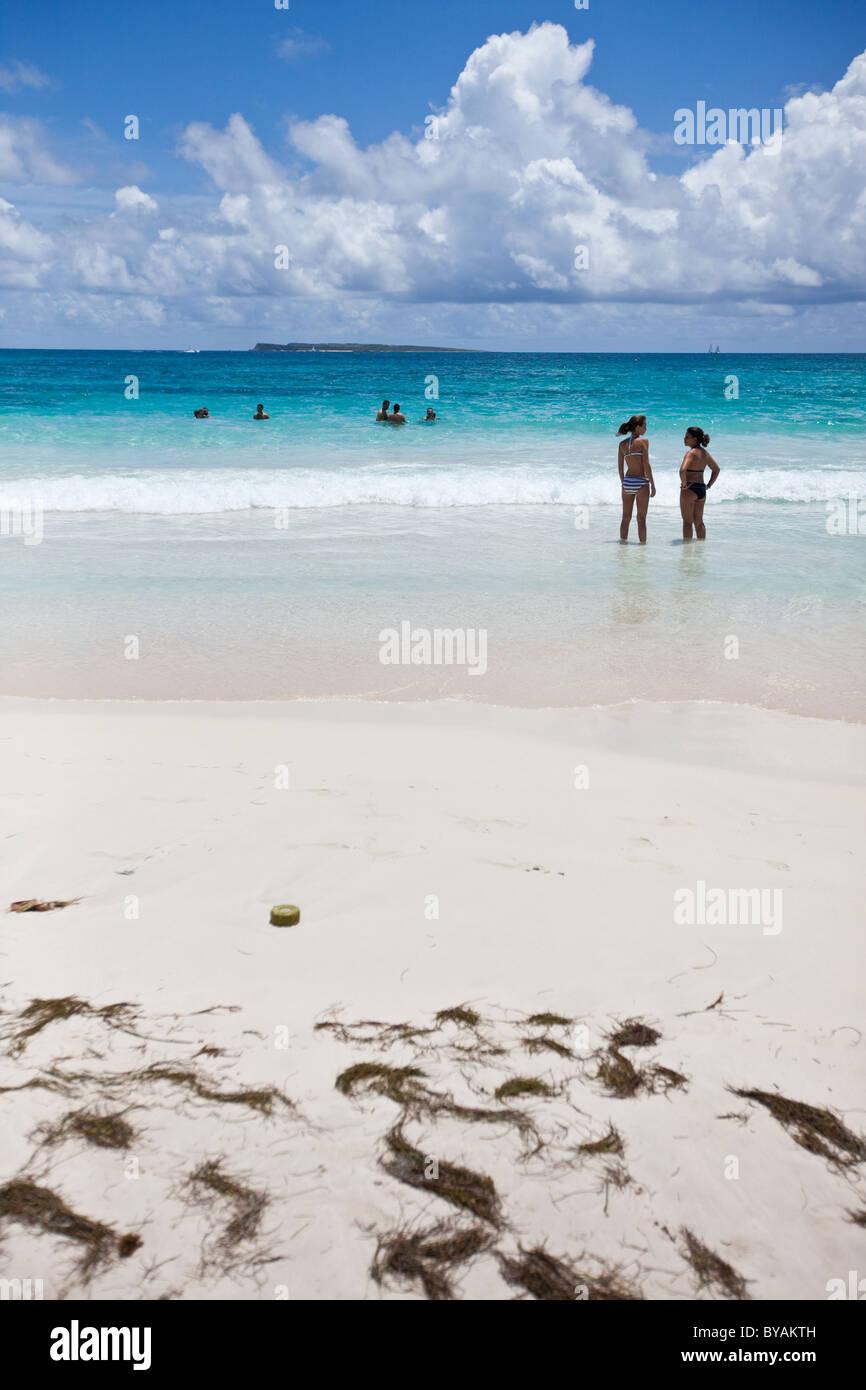 Orient Beach In Saint Martin The Caribbean