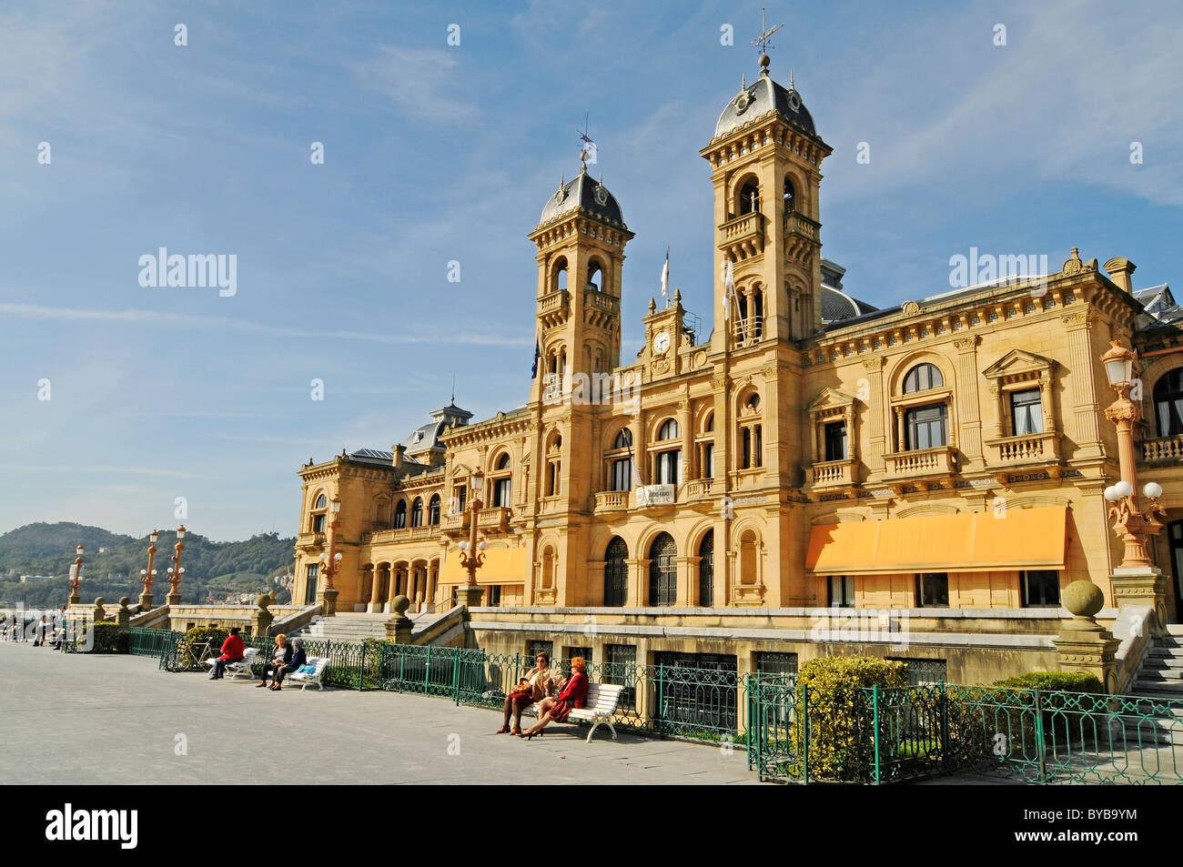 City hall san sebastian pais vasco basque country - San sebastian pais vasco ...