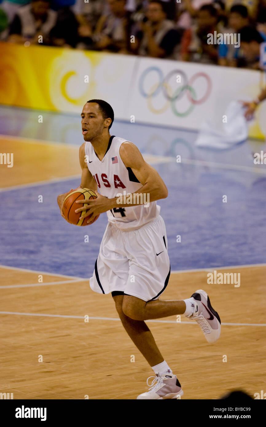Tayshaun Prince USA USA China men s basketball action at the