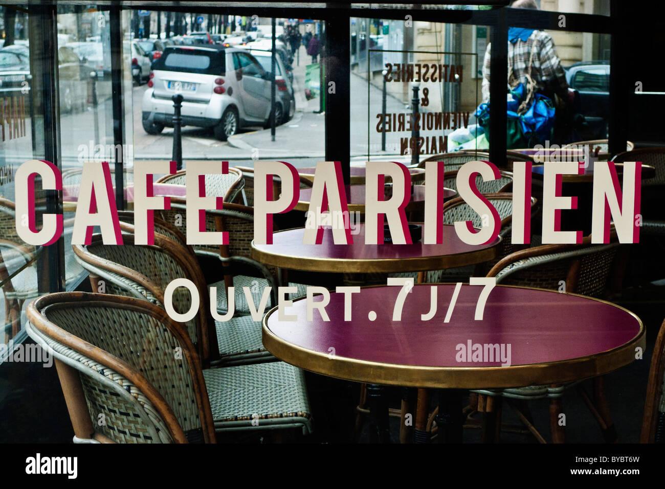 Parisian caf paris france stock photo royalty free image 34066561 alamy - Camif paris ...