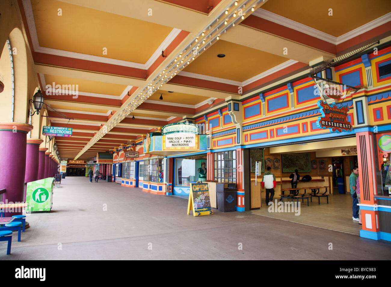 casino arcade at the santa cruz beach boardwalk