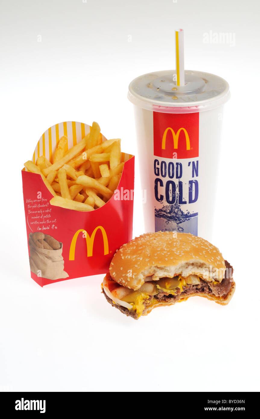Quarter Pounder And Fries Mcdonald's quarter pou...
