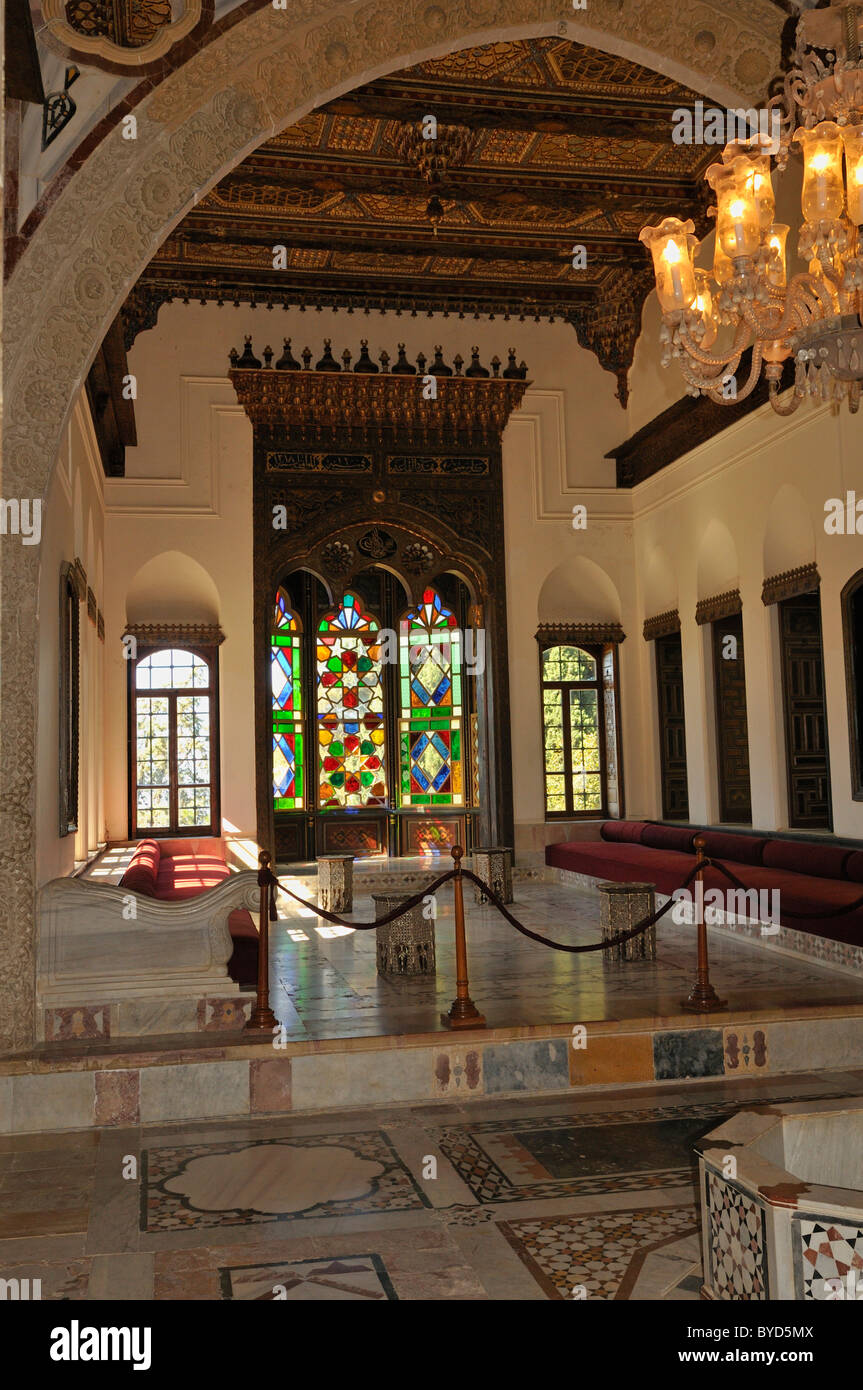 Oriental Living Room In The Historic Beit Ed Dine, Beiteddine Palace Of  Emir Bashir Part 81
