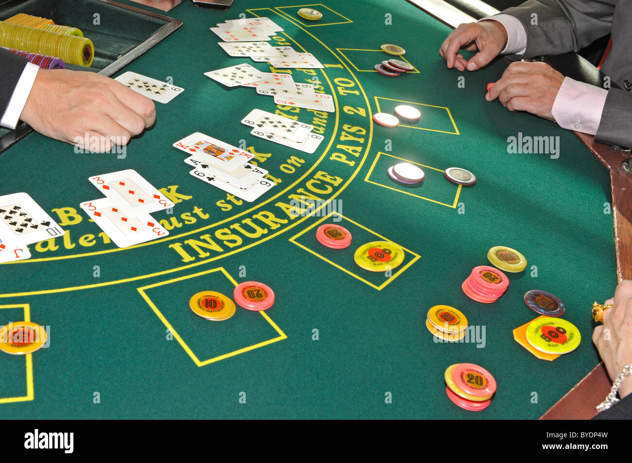 black jack poker table casino of bad wiessee tegernsee lake stock photo royalty free image. Black Bedroom Furniture Sets. Home Design Ideas