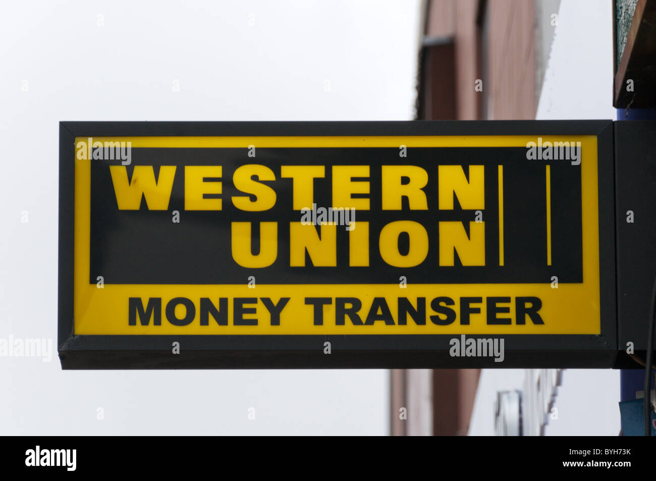 Moving money sign
