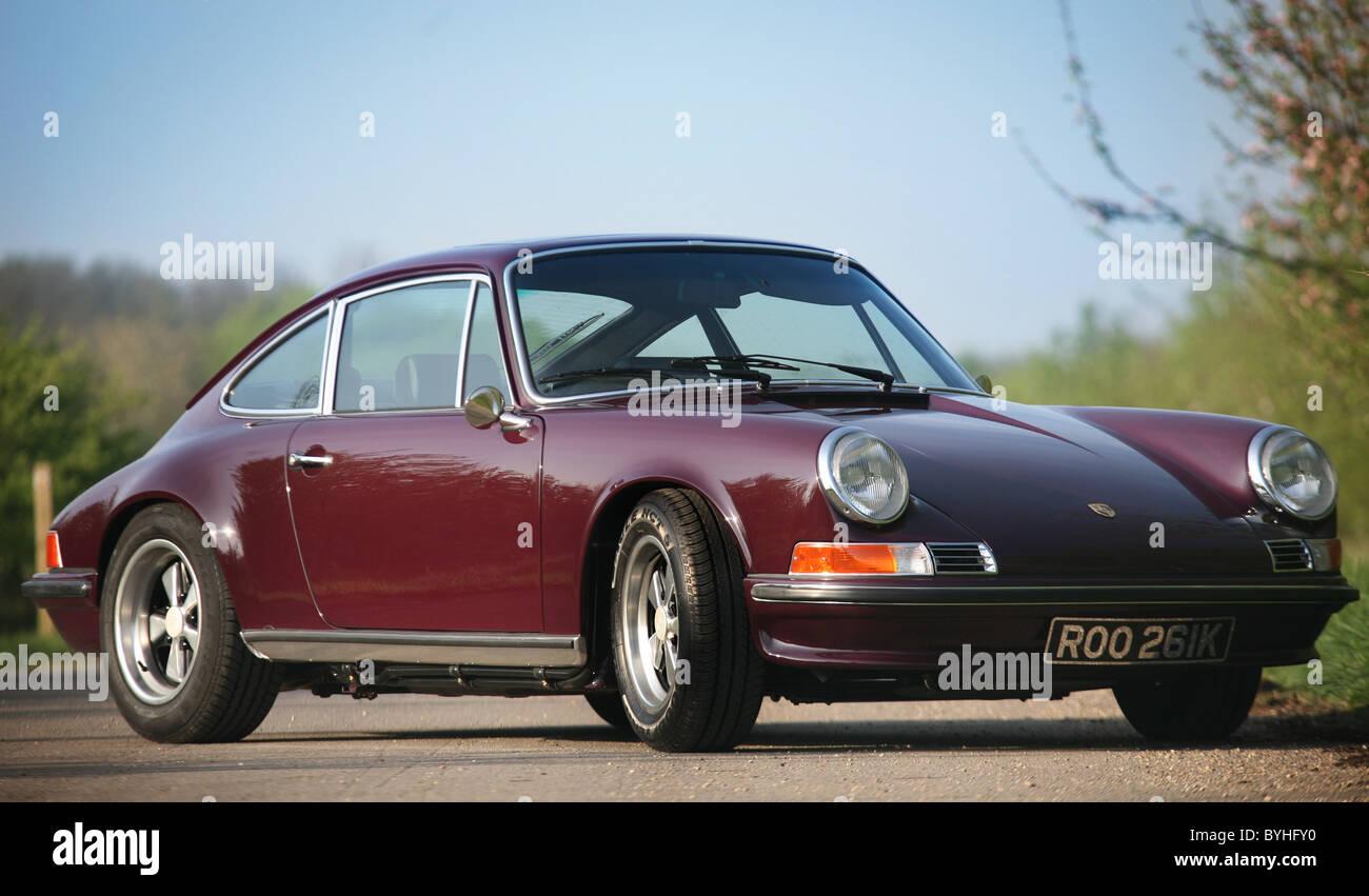 Front of a Classic 1960's Porsche 911 3.2 Carerra S Stock Photo ...