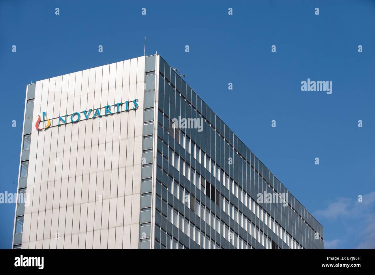 Headquarters Of The Chemical And Pharmaceuticalpany Novartis Ag, Basel,  Switzerland