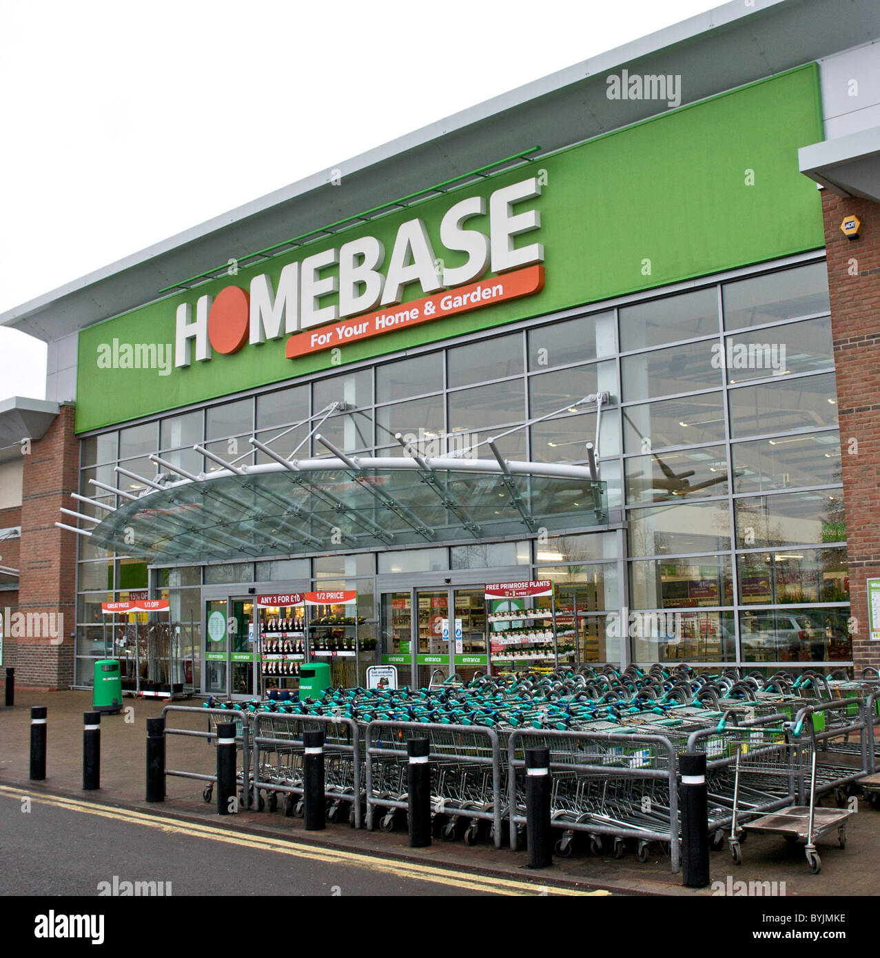 Exceptional Interior Of Large Store Showing The Wide Range Of Merchandise Available.  Homebase