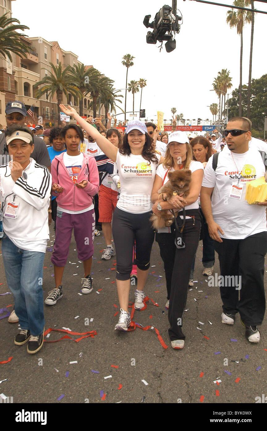 Fran Drescher Revlon Run Walk-Race Start Los Angeles Memorial ...