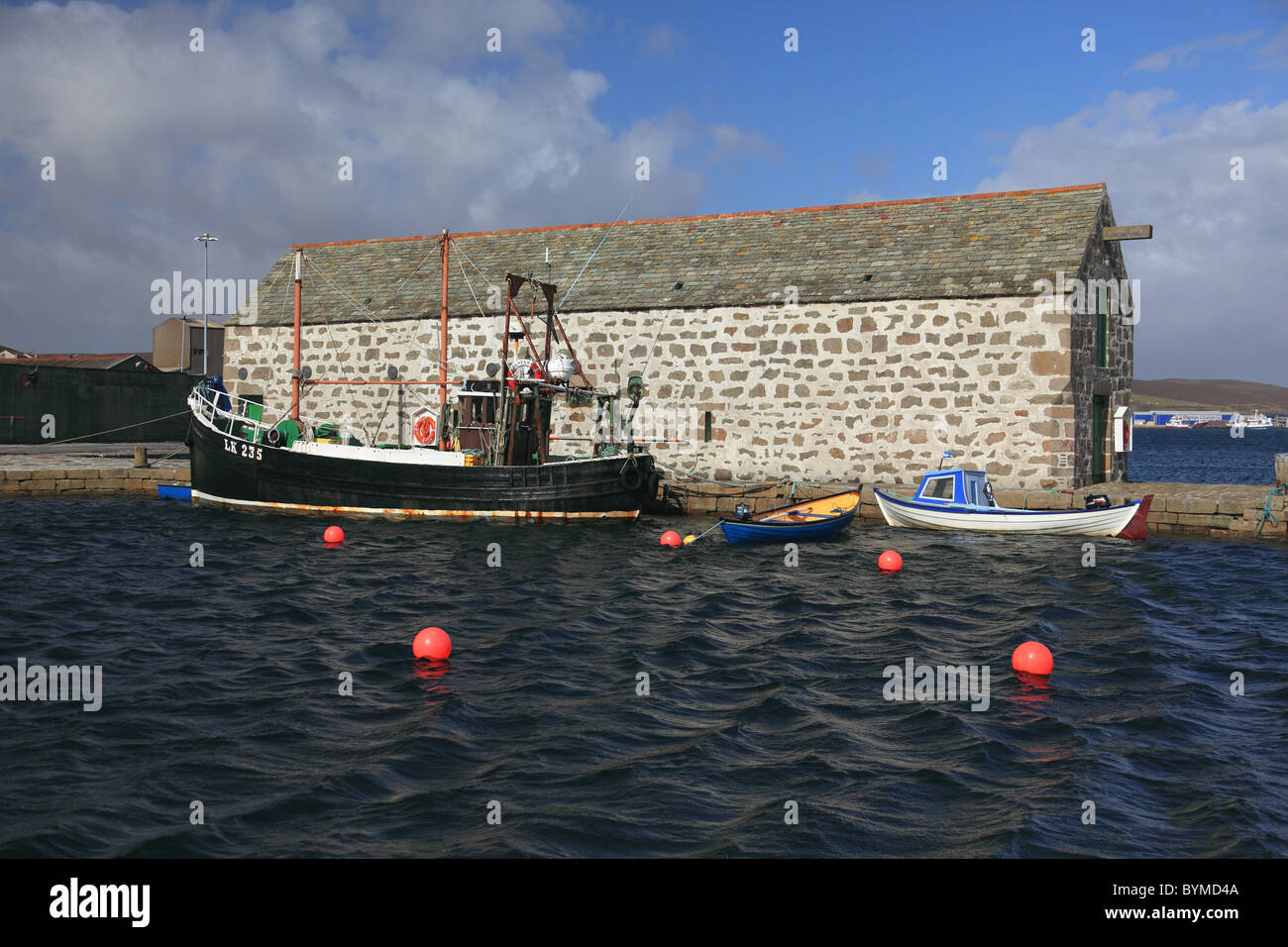 Near shore fishing vessel and small boats at hay s dock for Fishing docks near me