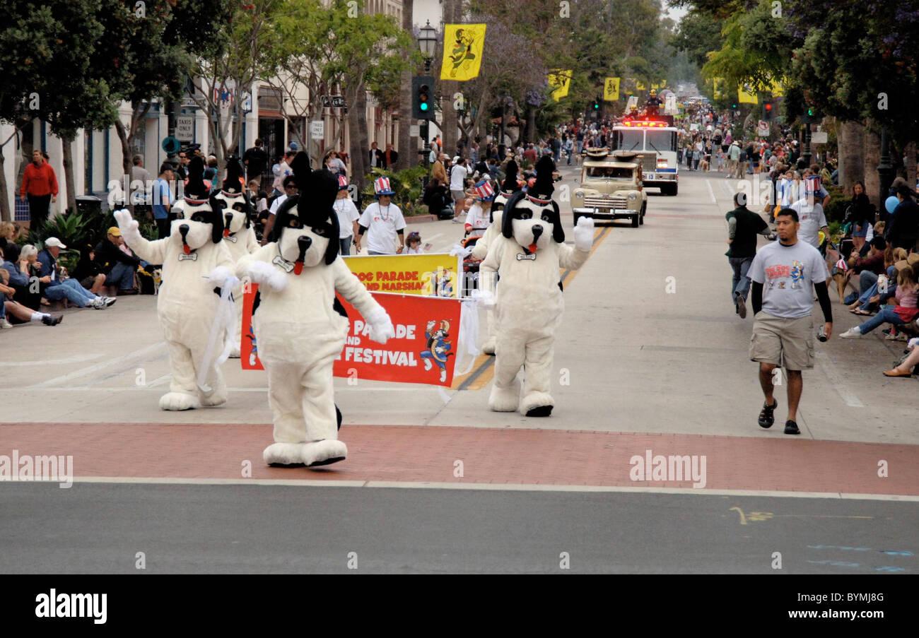 Big Dog Parade  Santa Barbara