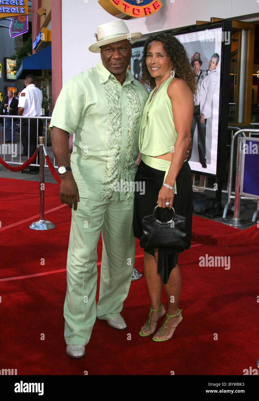 Ving Rhames and Wife I Now Pronounce You Chuck & Larry World