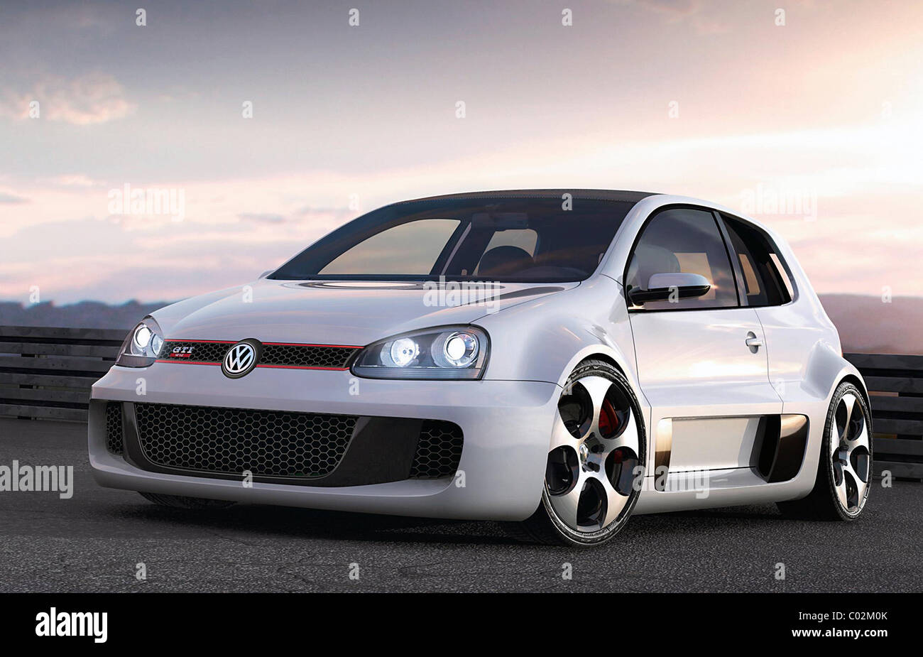 VW Golf GTI W12 concept Volkswagen has got out a stunning car in ...