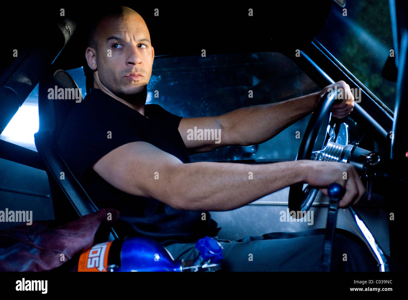 Stock photo vin diesel fast furious the fast and the furious 4 2009