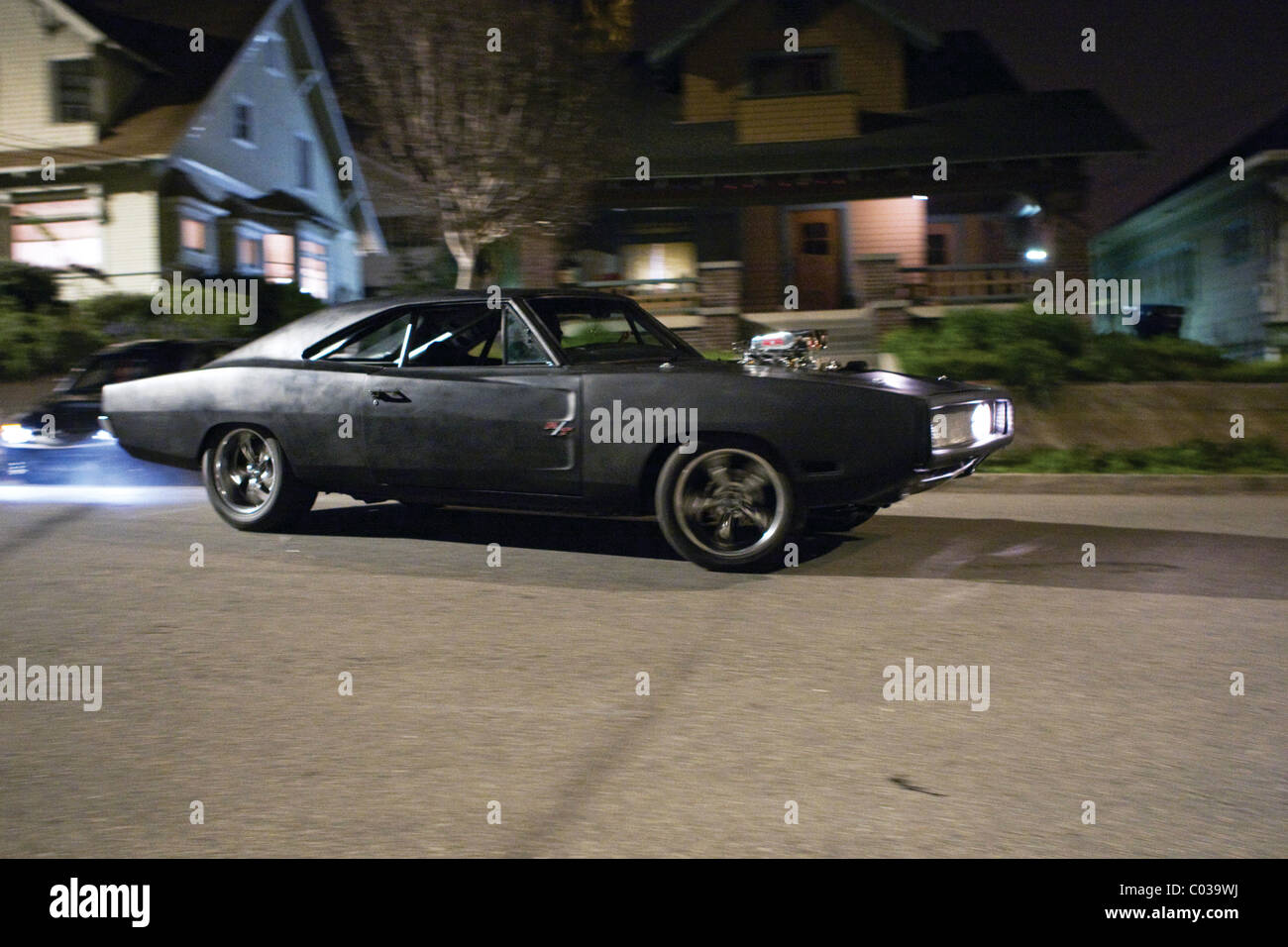 1970 dodge charger fast furious the fast and the furious 4 2009 stock photo royalty free. Black Bedroom Furniture Sets. Home Design Ideas