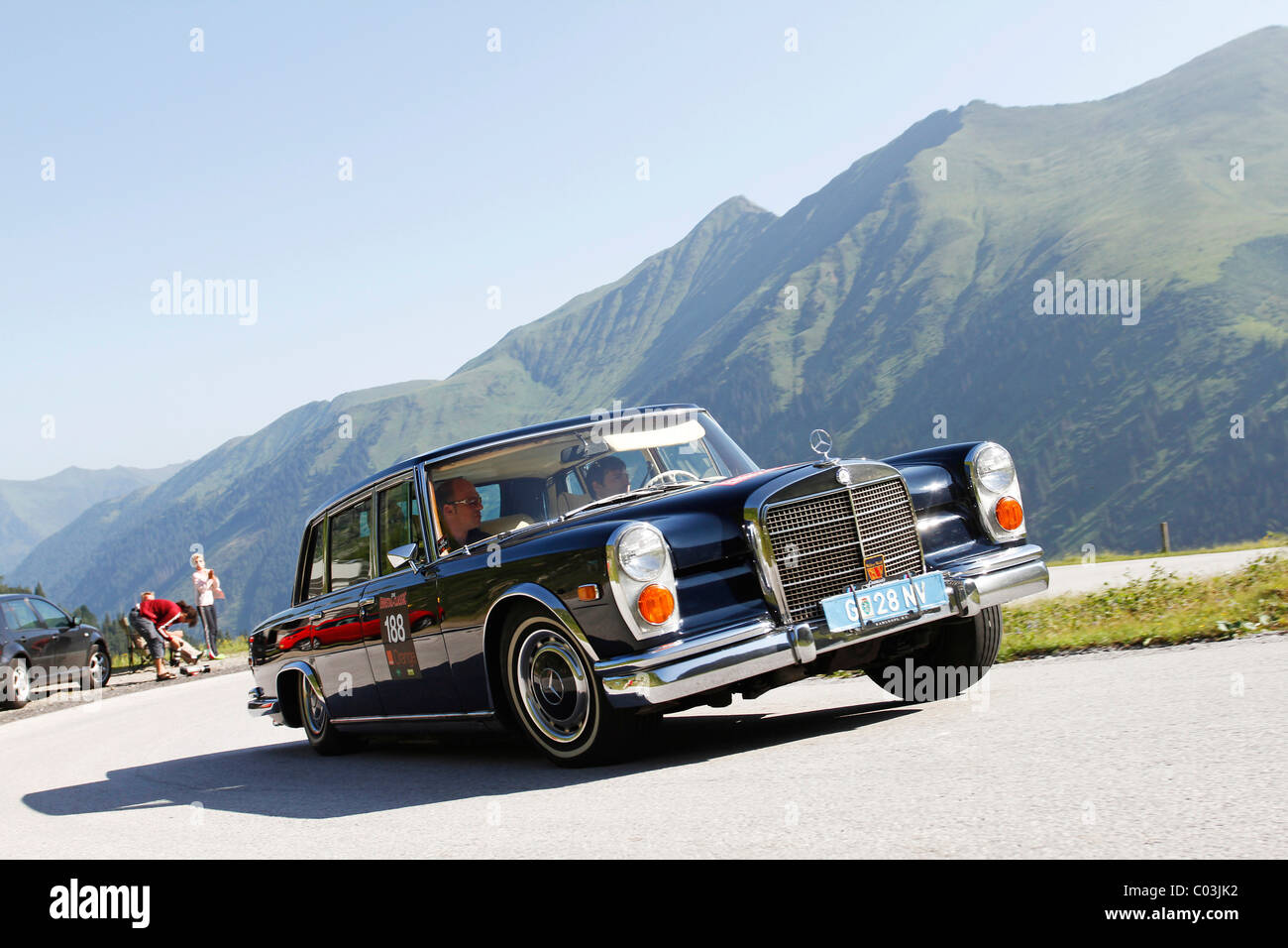 Mercedes-Benz 600 Pullman, built in 1968, Soelkpass, Ennstal ...