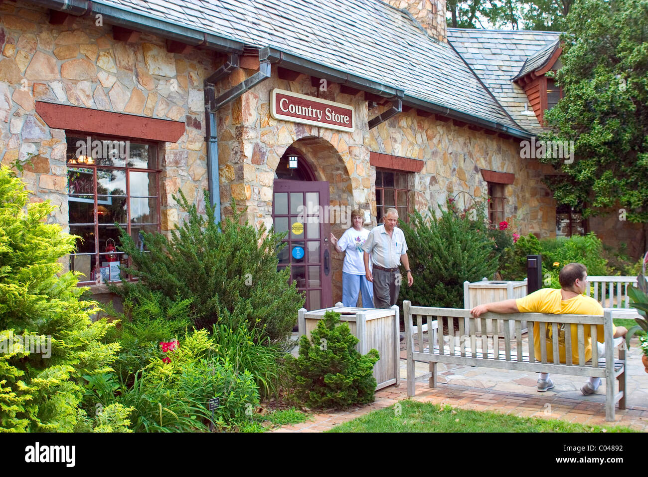 The Country Store At Callaway Gardens Offers Gifts And Food Products Stock Photo Royalty Free