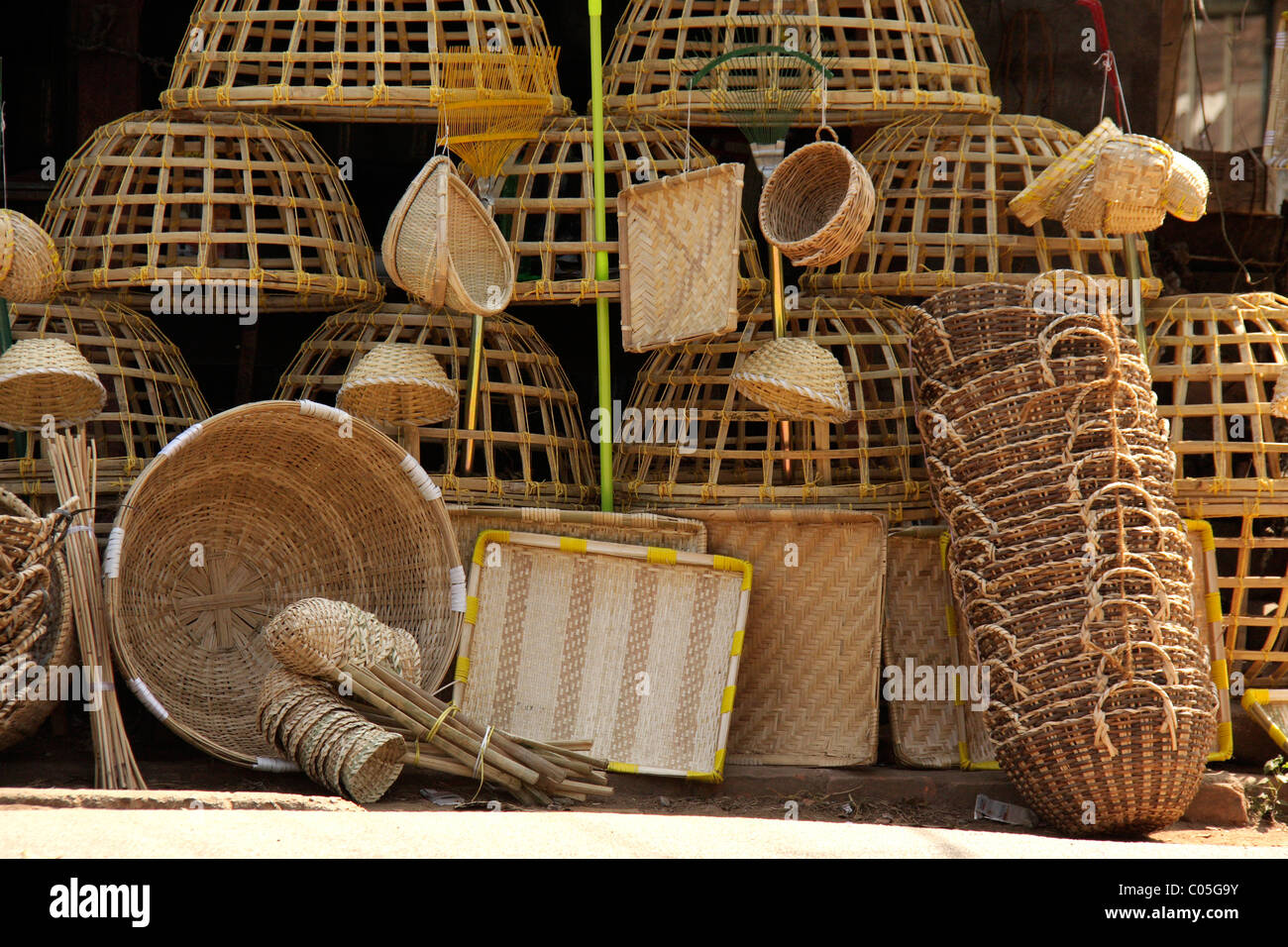 Bamboo Handle Stock Photos  for Bamboo Curtains Kerala  70ref