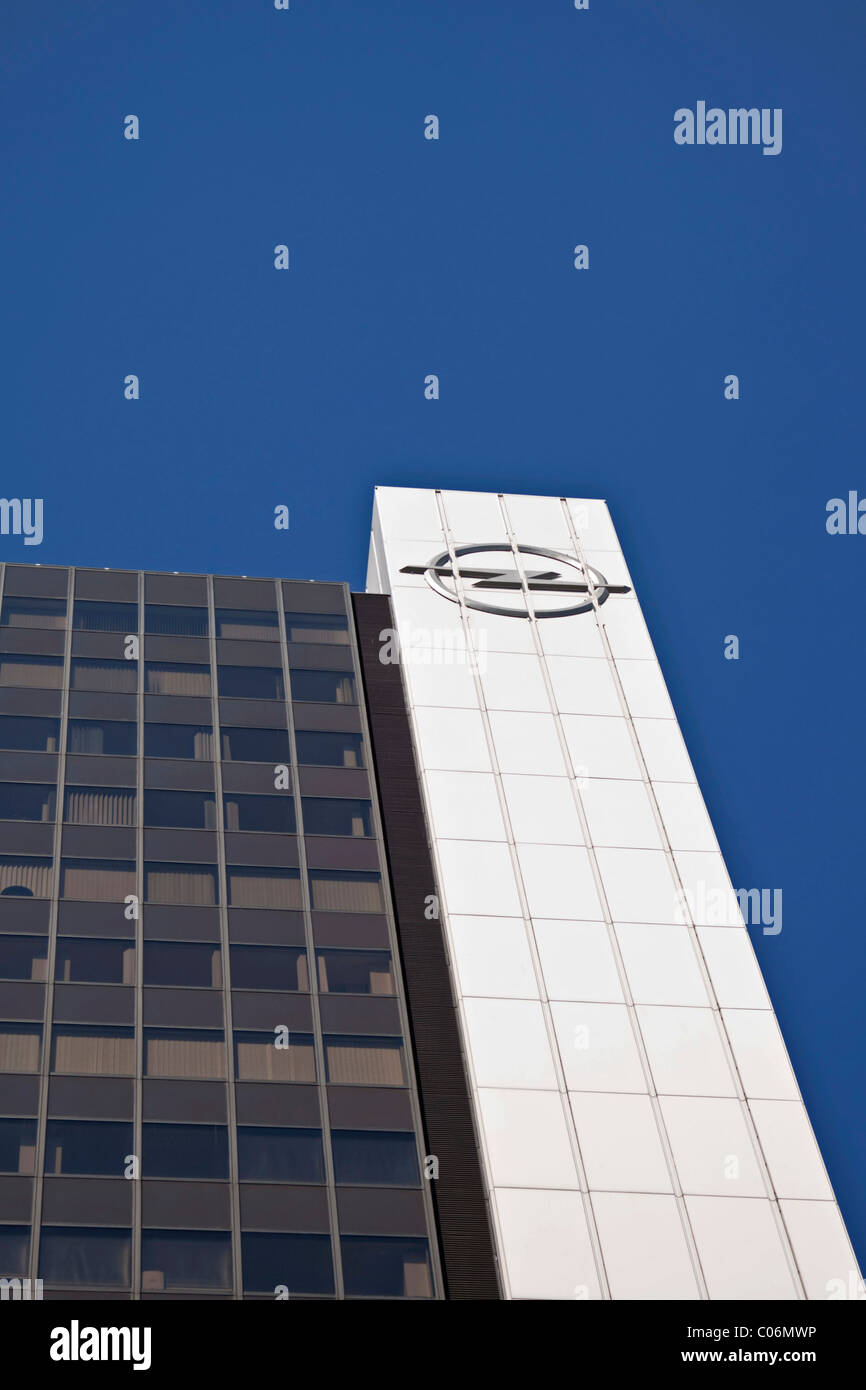 opel building in berlin germany europe stock photo royalty free image 34568850 alamy. Black Bedroom Furniture Sets. Home Design Ideas
