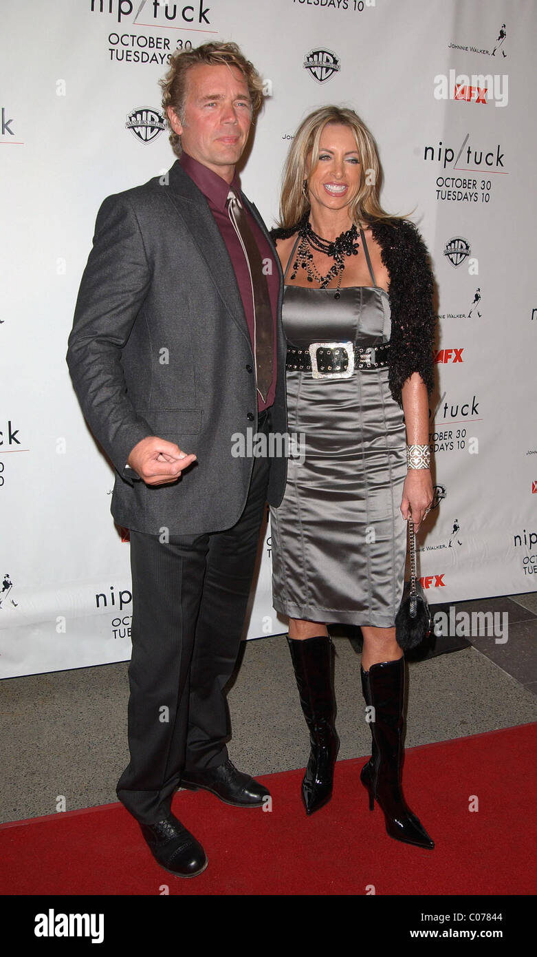 Elly Castle Classy john schneider and wife elly castle nip/tuck season five premiere