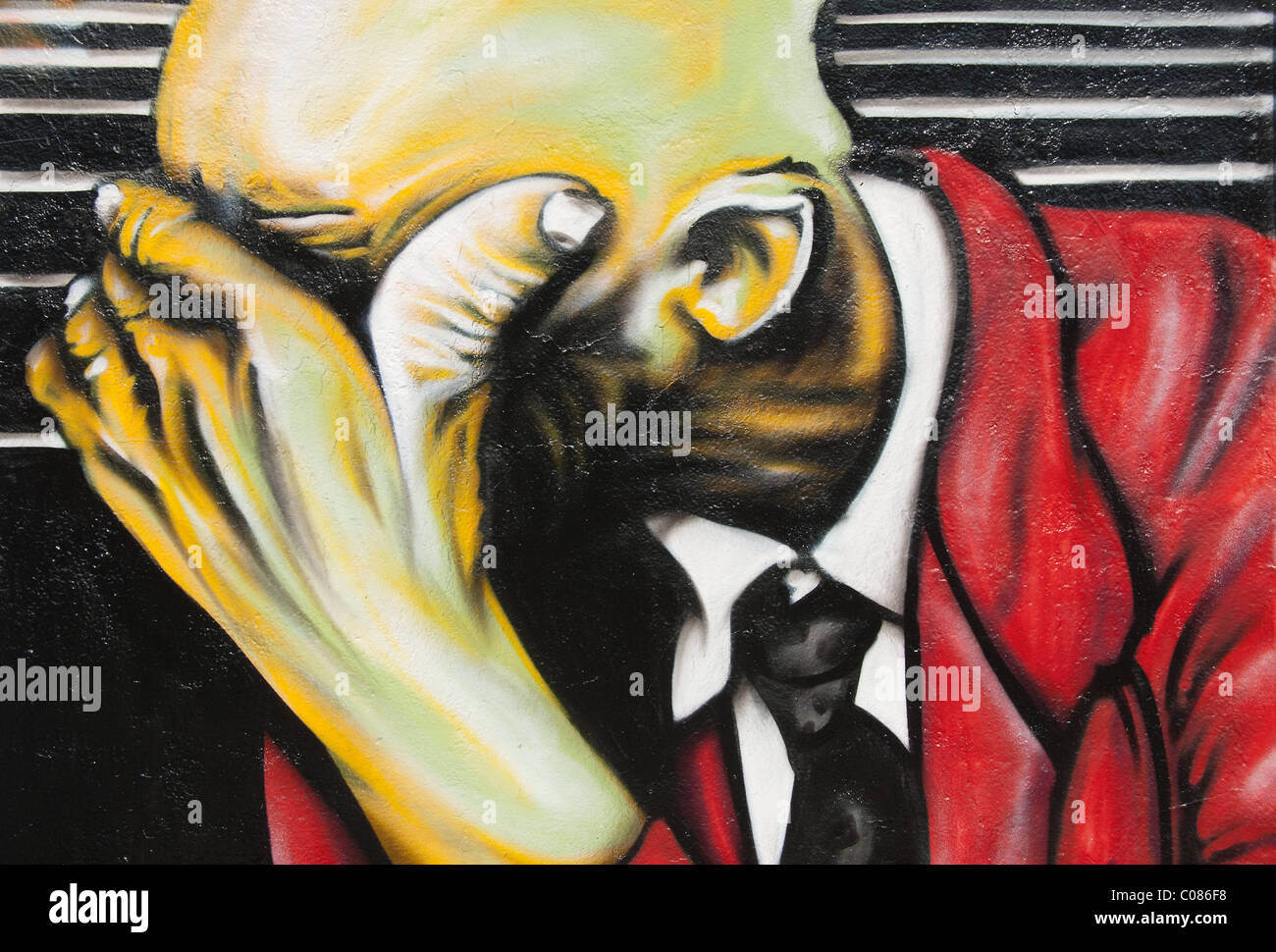 Graffiti wall usa - Graffiti Wall Art Mural In Wynwood District Of Miami Florida Usa