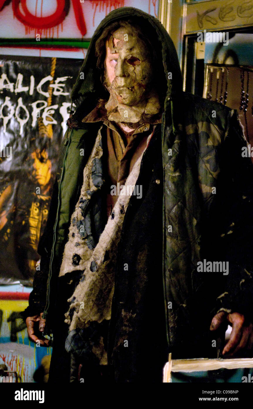 TYLER MANE H2; HALLOWEEN 2; HALLOWEEN II (2009 Stock Photo ...