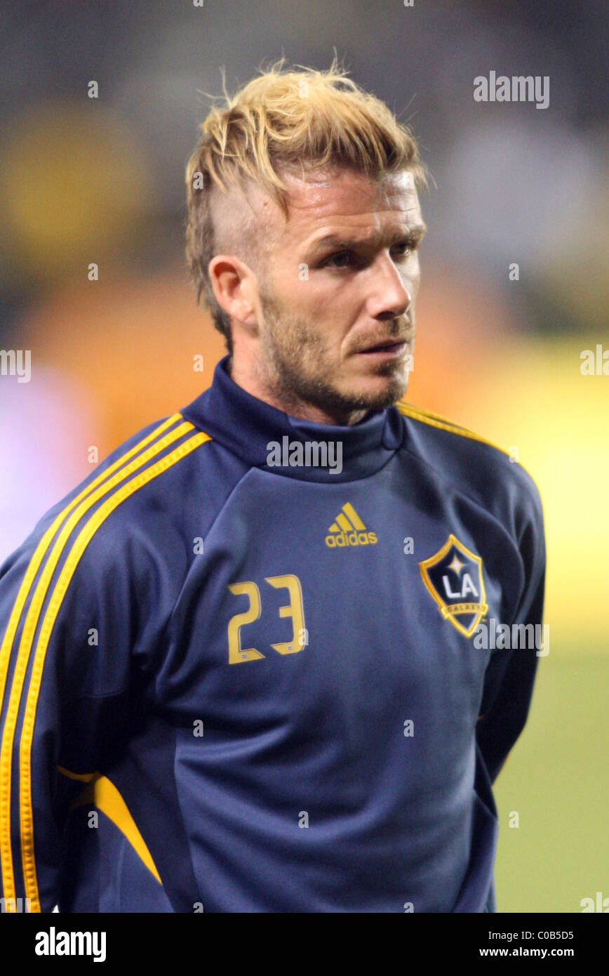 David Beckham Has A New Haircut As He Plays For Los Angeles Galaxy - David beckham hairstyle la galaxy