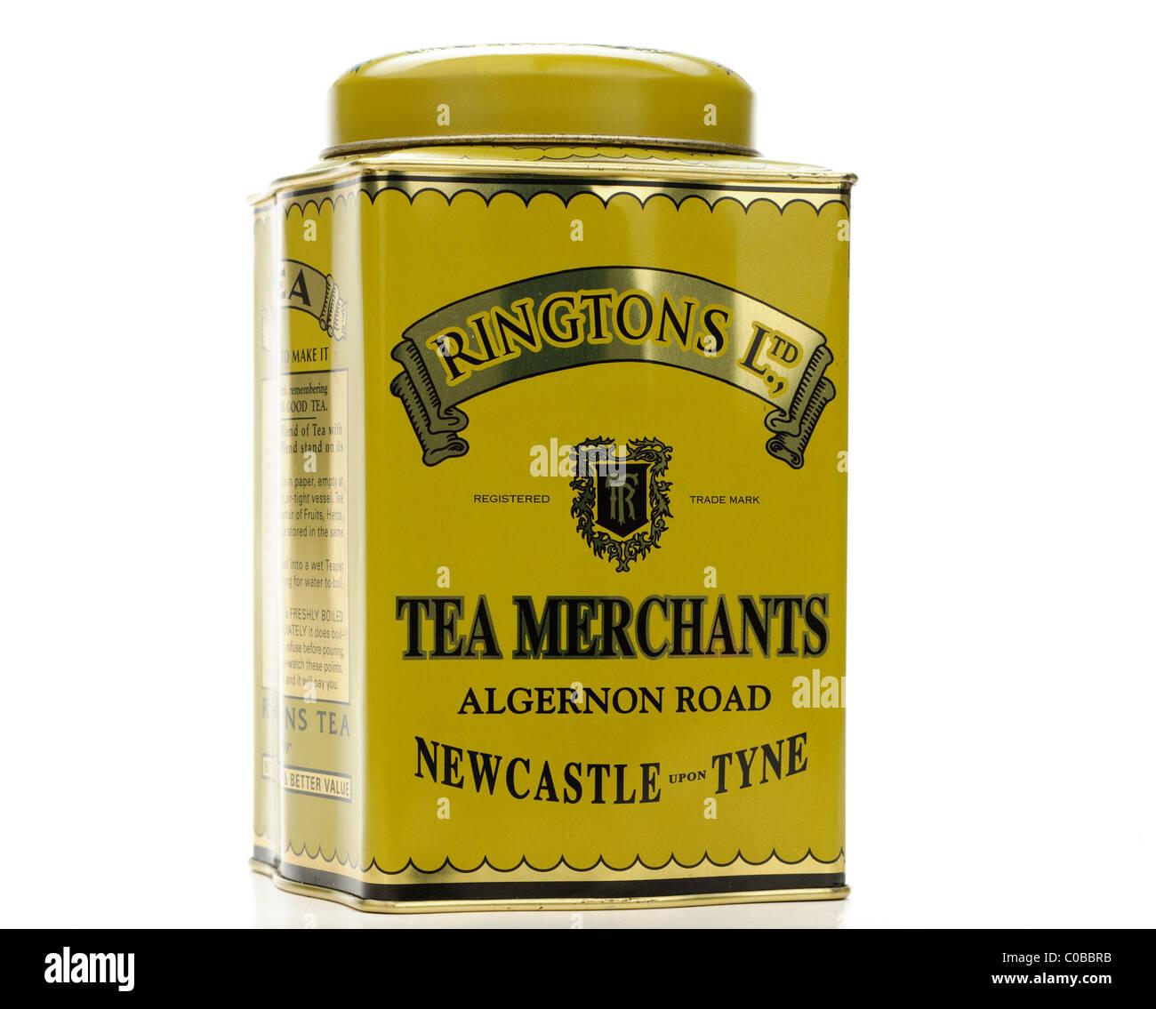 Vintage Tea Tin 40