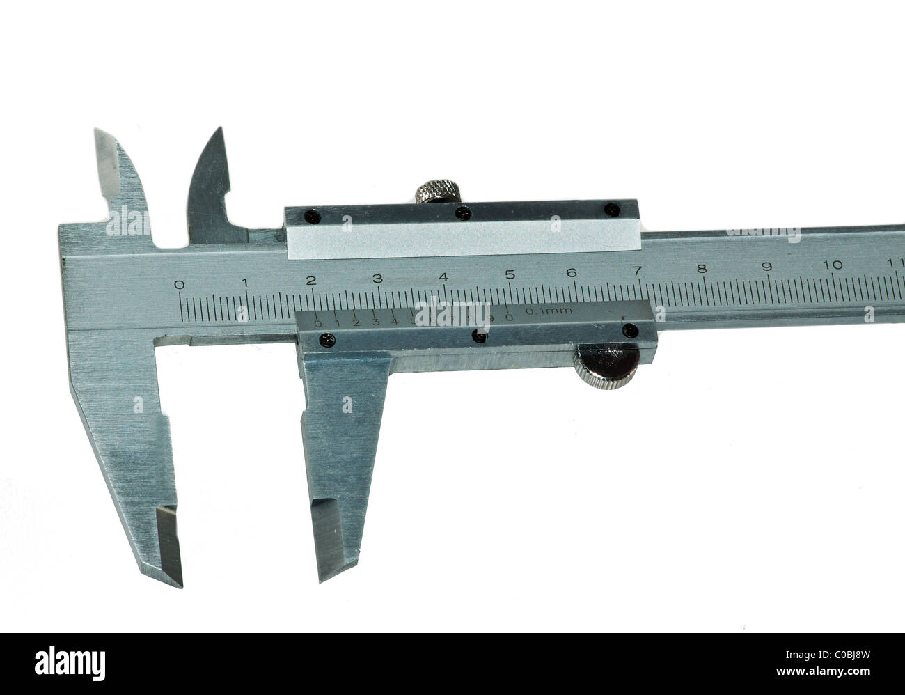 Engineering Measuring Instruments : Measuring tools used in mechanical engineering isolated