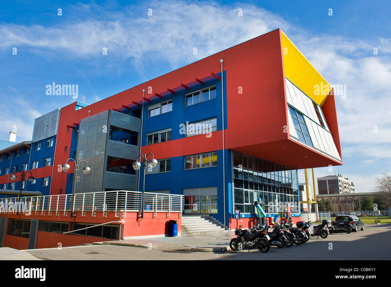 Faculty of design politecnico campus bovisa milan italy for Politecnico milano design della moda