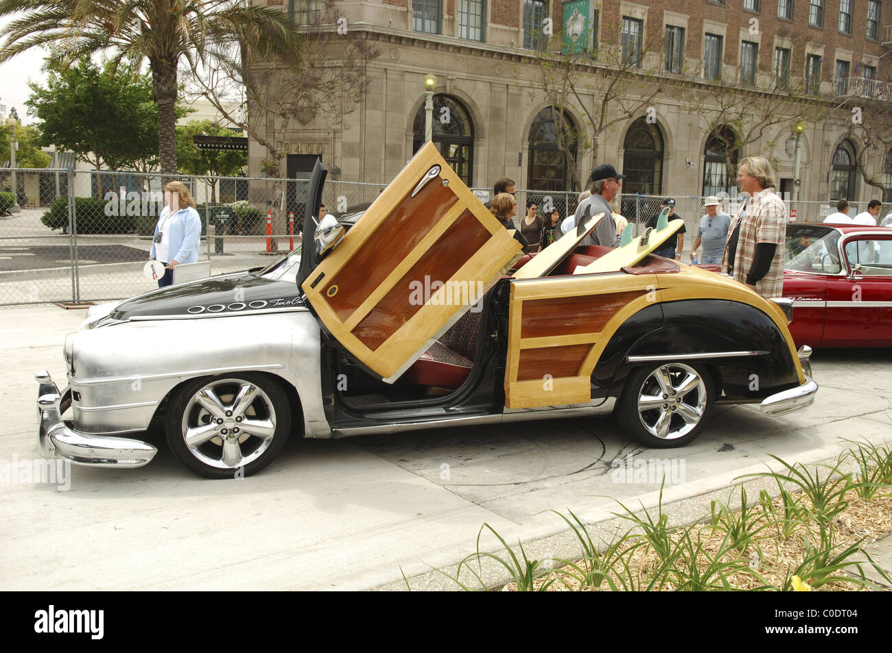 The George Barris Cruisin Back To The 50 S Culver City Car Show
