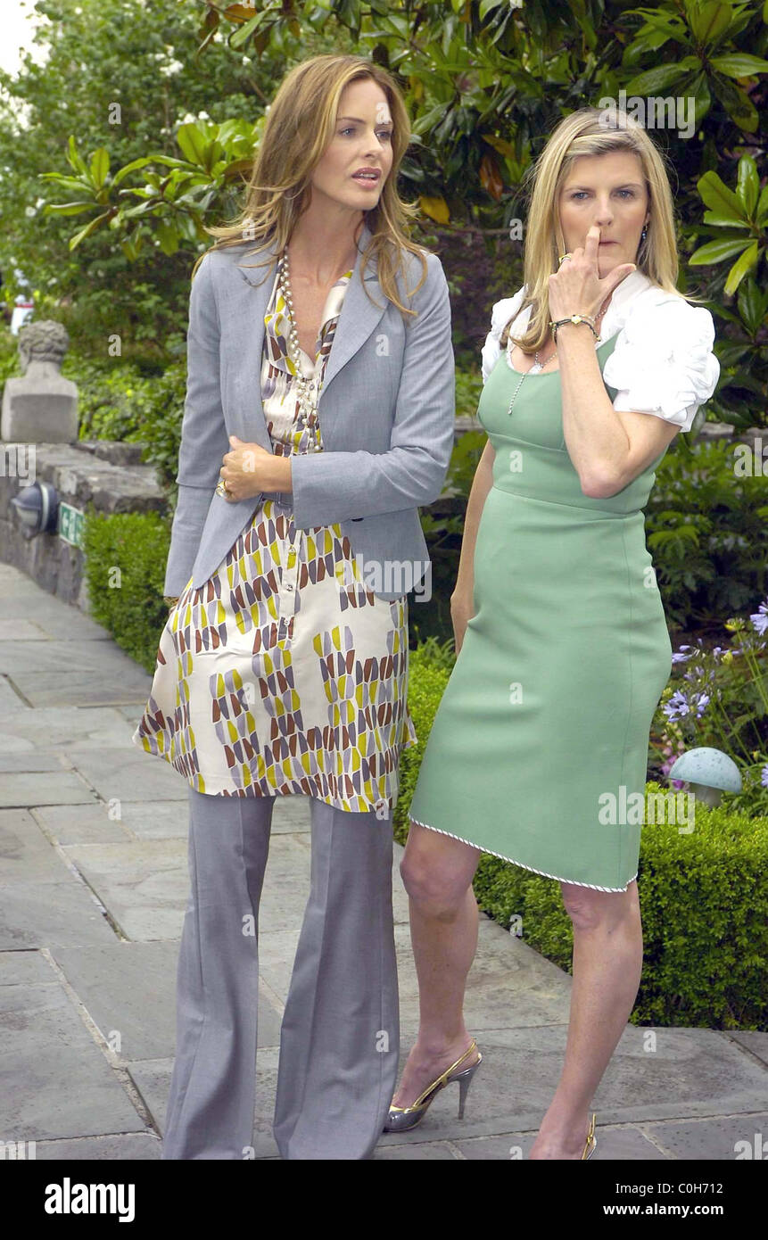 Style Guru Fashion Glitz: Style Guru's Trinny Woodall And Susannah Constantine At