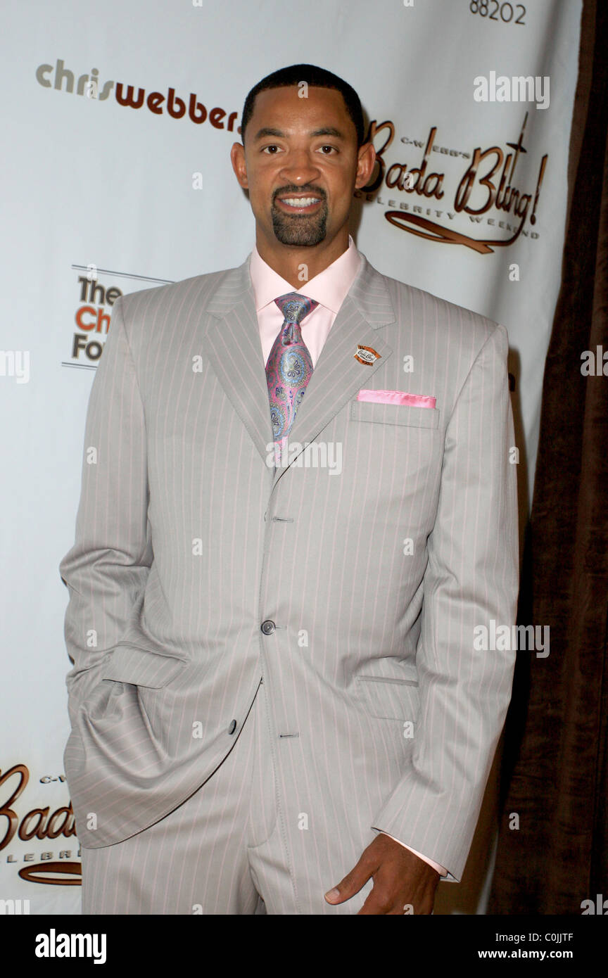 Juwan Howard Chris Webber Bada Bling Gala arrivals at Planet